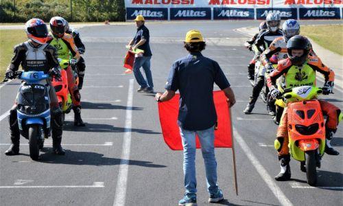 Tretjič letos na delu vozniki minimota, minigp-ja, skuterjev in supermota