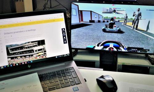 Četrta dirka državnega prvenstva v e-kartingu bo v torek 23. februarja