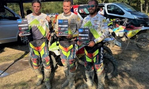 Enduro veterani Slovenije zadovoljni v cilju