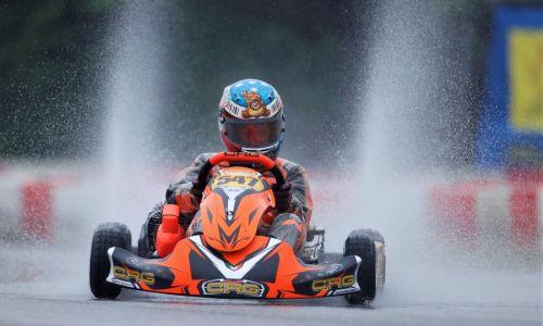 Štirje Slovenci na dirki WSK Euro v Lonatu