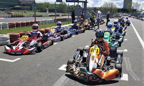 Na karting dirki v Rechnitzu slovenski vozniki uspešni