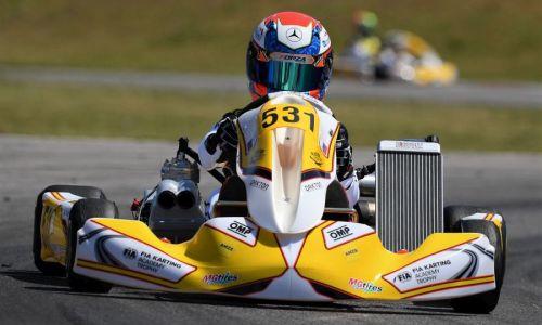 Kastelic slovenski voznik na prvi dirki sezone FIA Academy Trophy