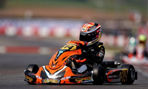 Poberaj na dirki Trofeo Andrea Margutti na 16. mestu