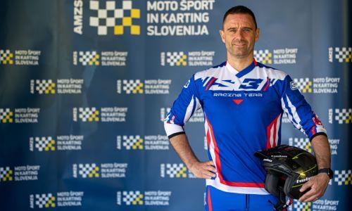 Severin Sajevec v nedeljo na dirki evropskega prvenstva v trialu