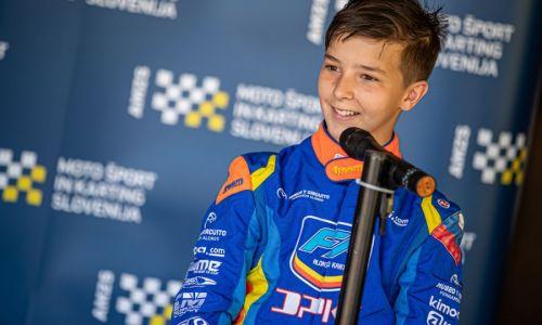 Kastelic brez finala na prvi dirki evropskega prvenstva v kartingu