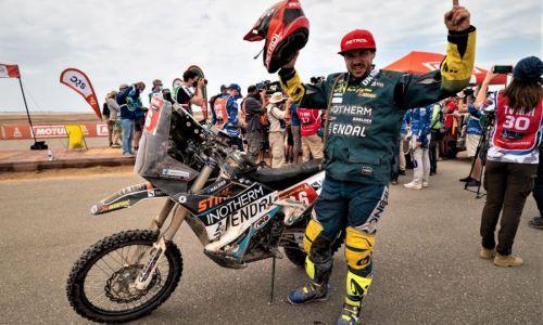 Simon Marčič uspešno prišel v cilj relija Dakar