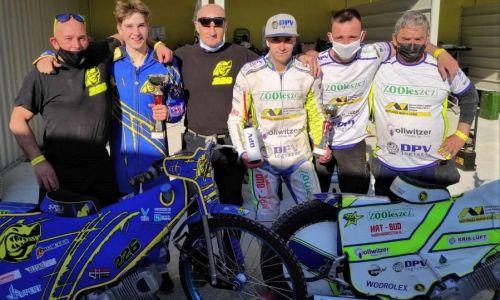 Na drugi dirki v Terenzanu Ivačič in Grmek tik za najboljšo trojico