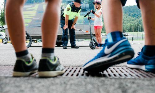 Prometnovarnostni dan na Vranskem tokrat v znamenju električnih koles in skirojev