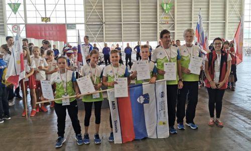 Mladi kolesarji na evropskem tekmovanju v Ženevi
