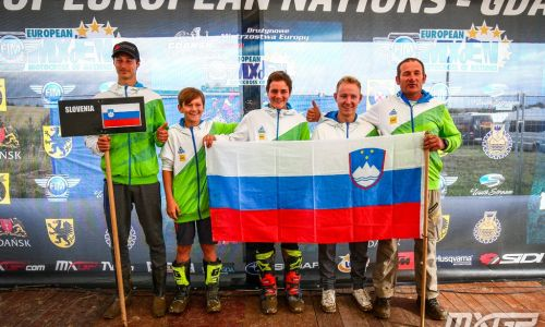 Mladi motokrosisti petnajsti na Poljskem