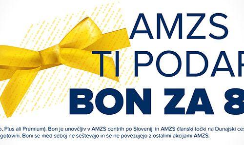 AMZS ti podarja bon za 8 €