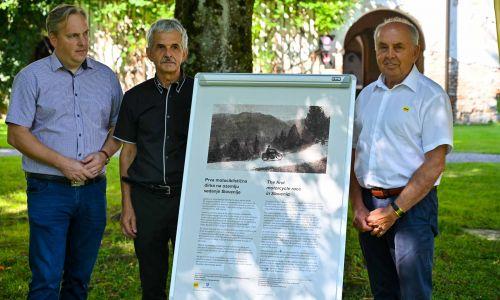 AMZS počastil stoletnico prve motociklistične dirke v Sloveniji
