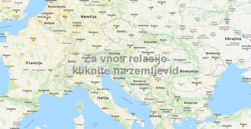Razdalje Med Kraji Po Evropi Amzs