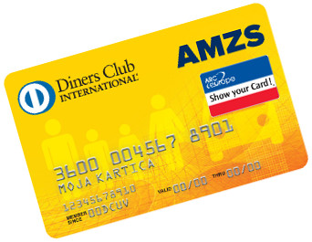 Diners Club AMZS kartica