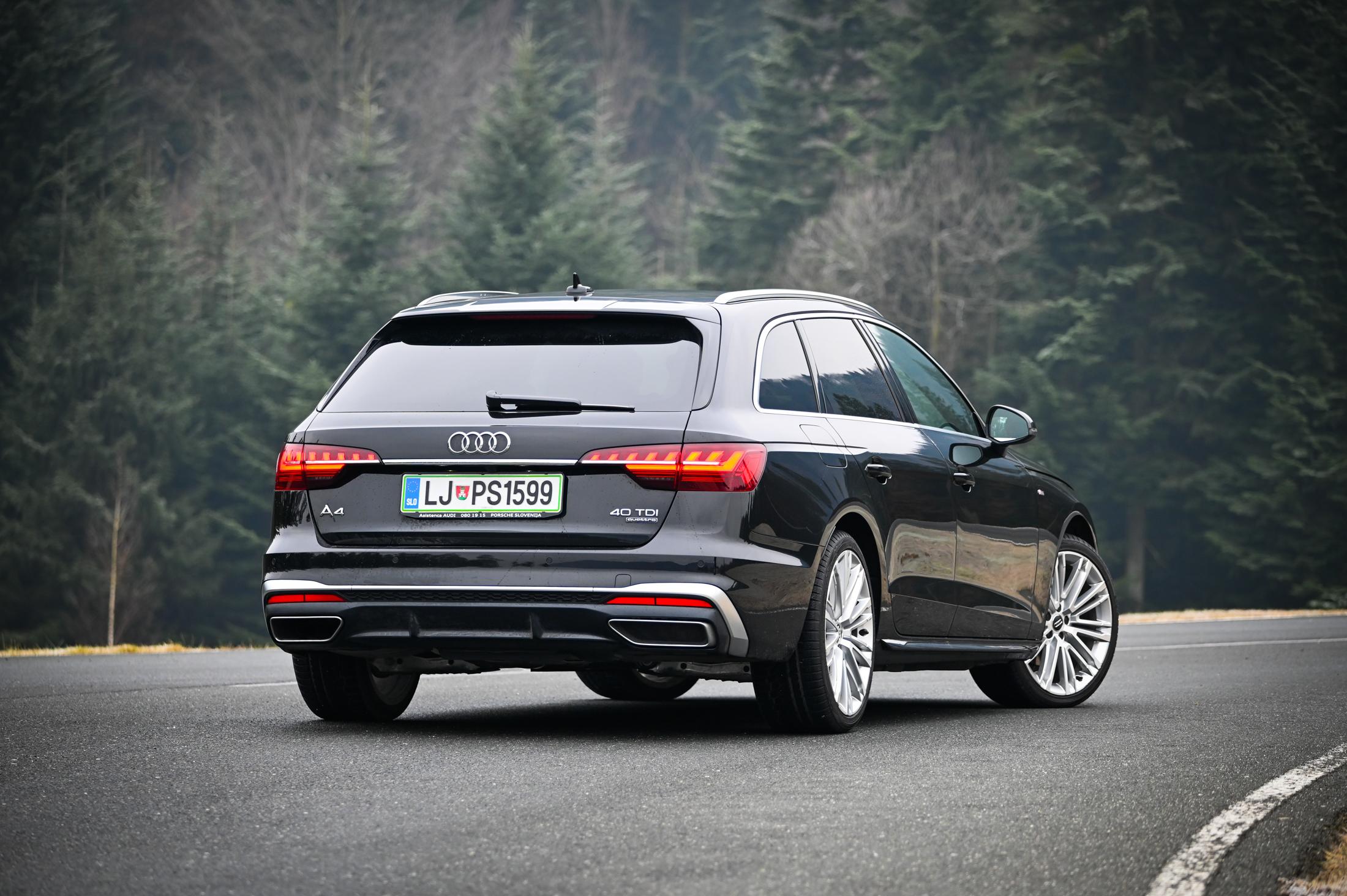 Kratek Test Audi A4 Avant 40 Tdi Quattro S Line S Tronic Amzs